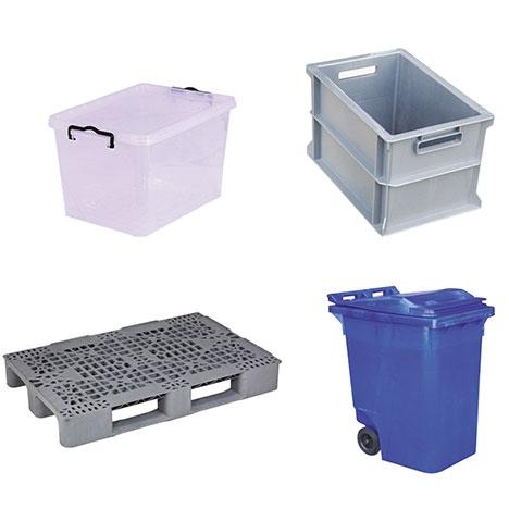 Plastik Saklama Kutuları Taşıma Kasaları - Paletler