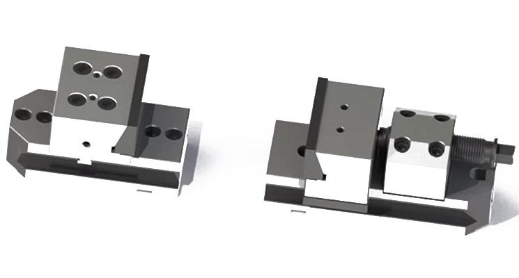 Modüler Mekanik Çelik Mengene
