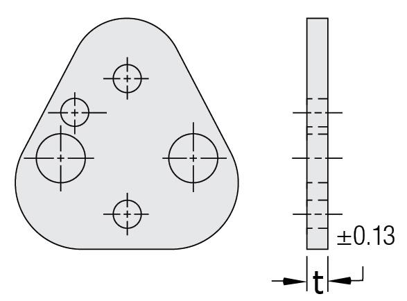 PRBP Zımba Tutucu Altlık Plakaları