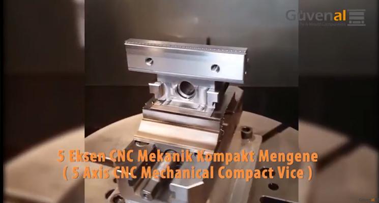 Beş Eksen CNC Mekanik Kompakt Mengene