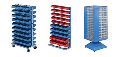 Plastik Çekmeceli ve Avadanlıklı Standlar