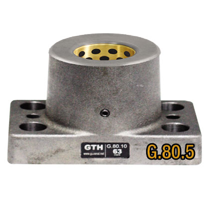 G80.5 Dikdörtgen Döküm Burç - Grafitli Bronz