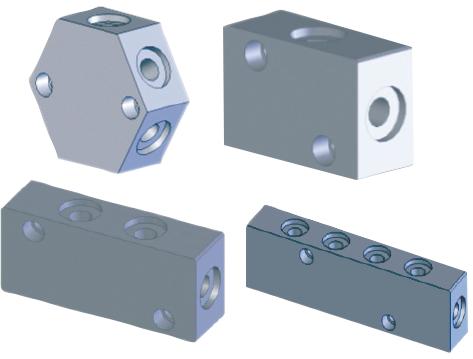 DB Gazlı Yay Dağıtım Blokları / Seri Bağlantı Sistemleri